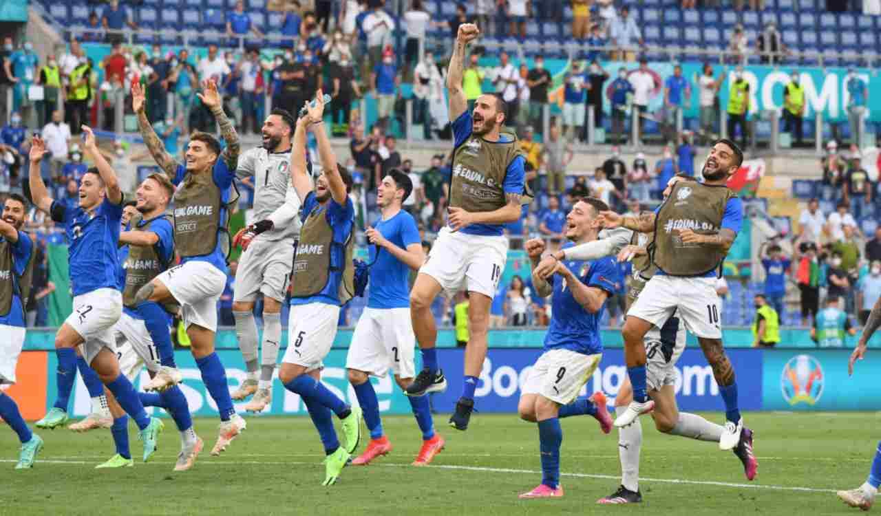 L'Italia che festeggia