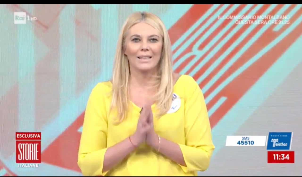 Eleonora Daniele Storie Italiane, Rai 1