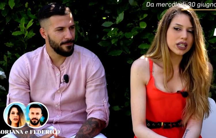 La coppia Floriana e Federico, Temptation Island
