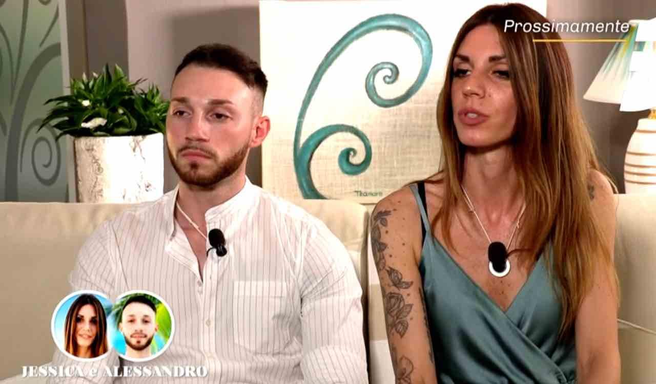La coppia Jessica e Alessandro, Temptation Island