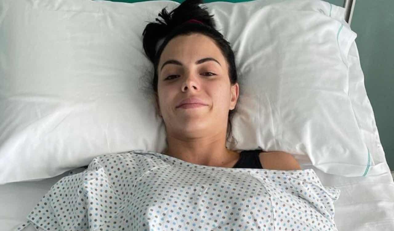 Shaila Gatta in ospedale