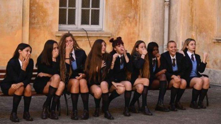 Le ragazze della scuola di Rai Due