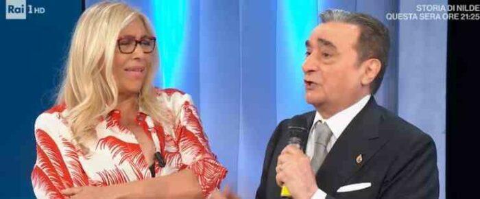 Mara Venier e Bruno Venturini
