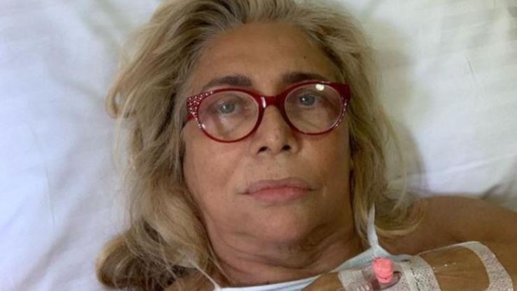 Mara dopo l'intervento ai denti