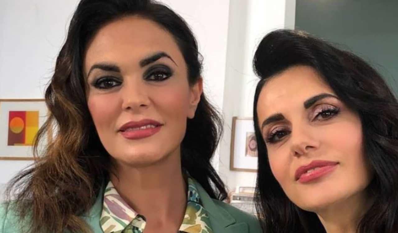 Maria Grazia Cucinotta e Rossella Brescia