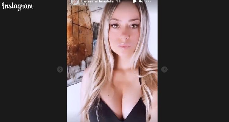 Martina Stella sensuale