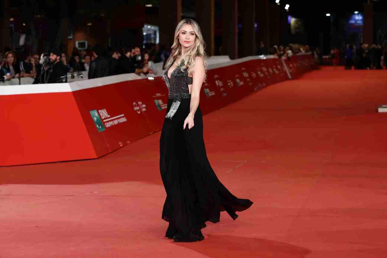 Martina Stella sul red carpet