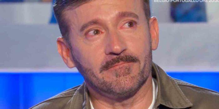 Max Biagi piange