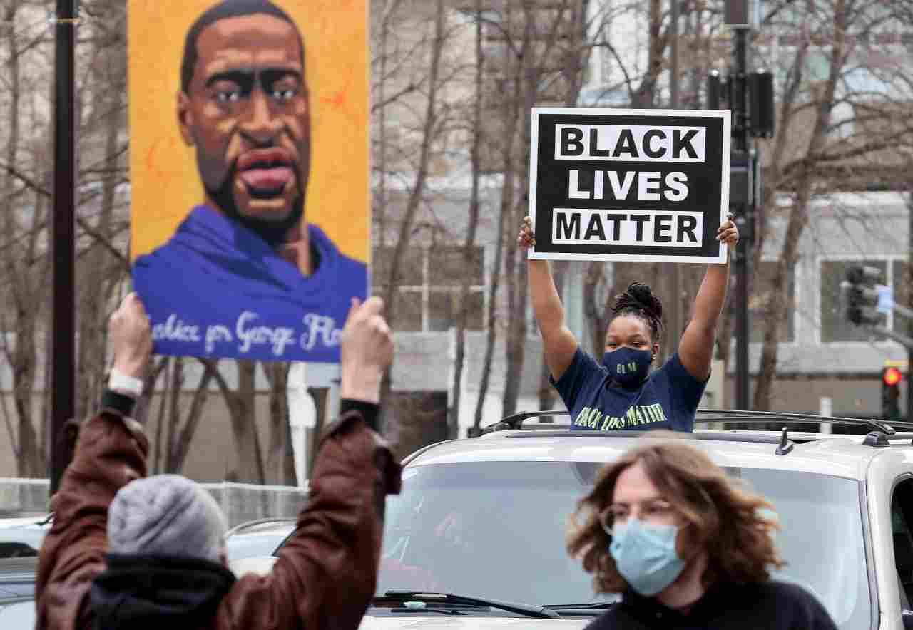Manifestazione di Black Lives Matter