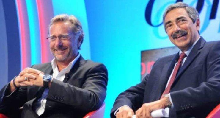 Paolo Bonolis e Marino Bartoletti insieme