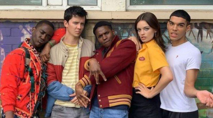 Gli adolescenti della terza stagione della serie Netflix