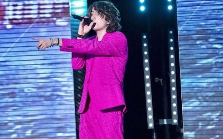 Sangiovanni vestito di rosa
