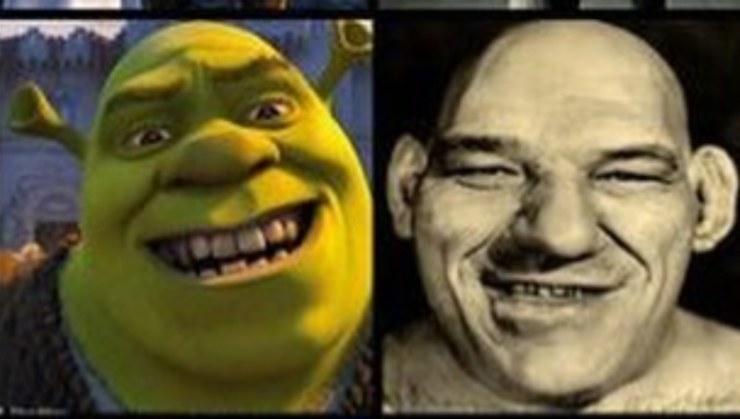 Shrek e Maurice tillet(1)
