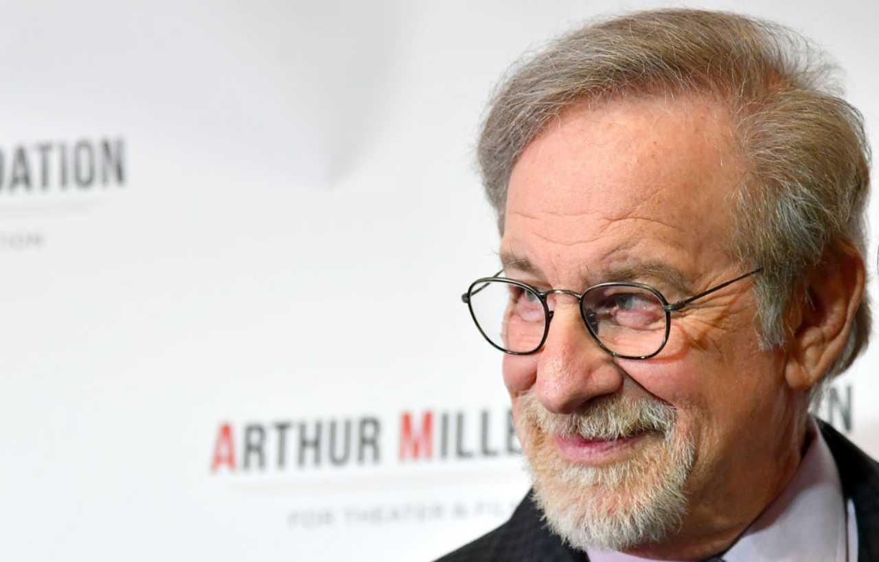 Steven Spielberg in posa
