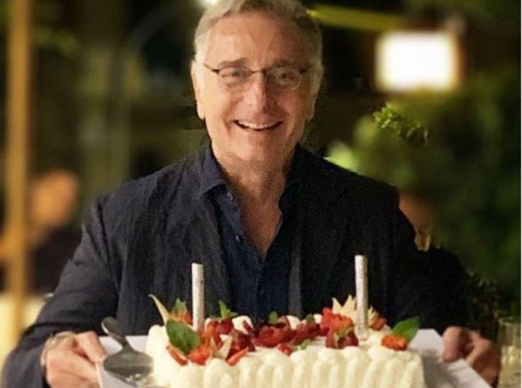 Torta di compleanno di Bonolis