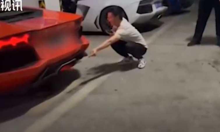 Esperimento Lamborghini in Cina