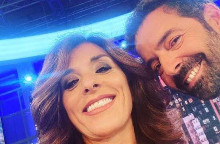 Alberto Matano ed Emma D'Aquino