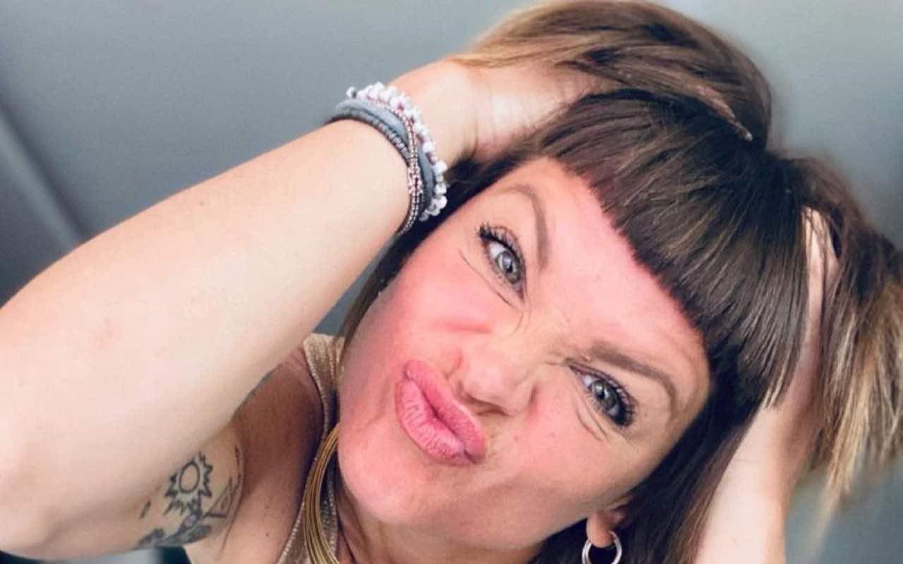 Alessandra Amoroso selfie