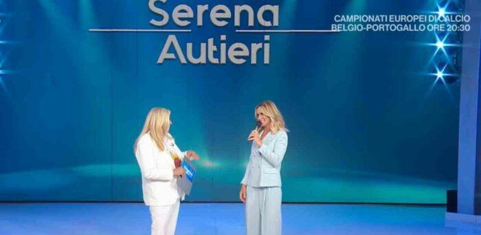Mara Venier e Serena Autieri