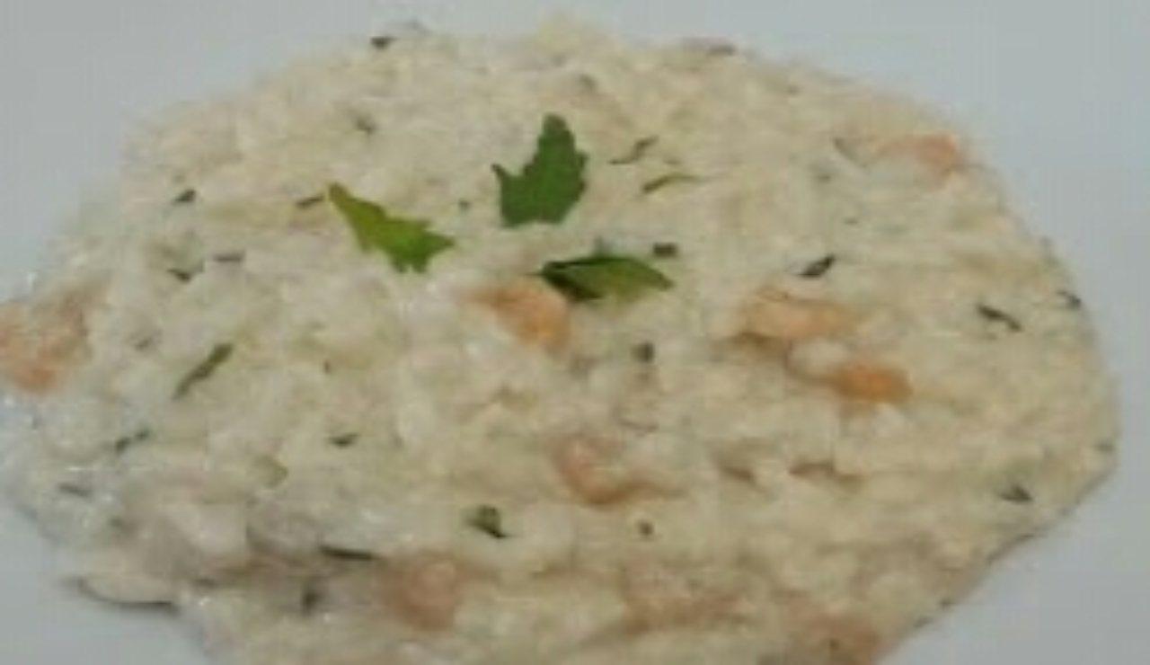 risotto cremoso mascarpone gamberetti