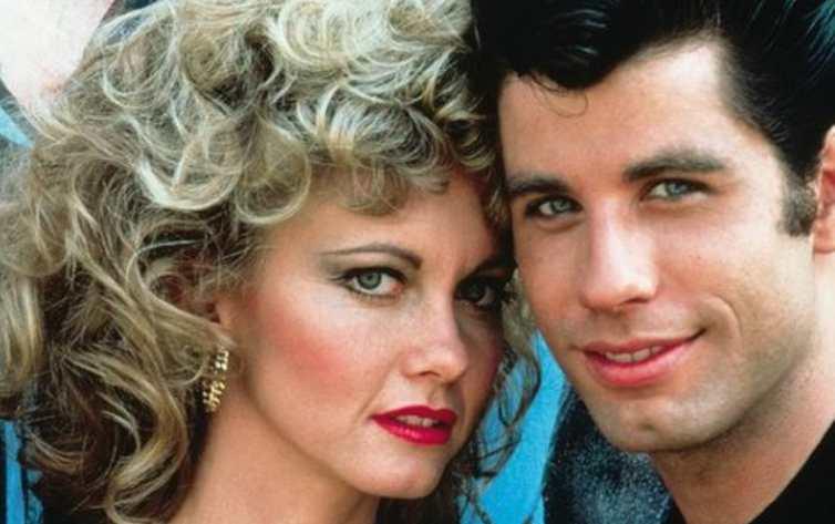 Sandy e Danny, protagonisti di Grease