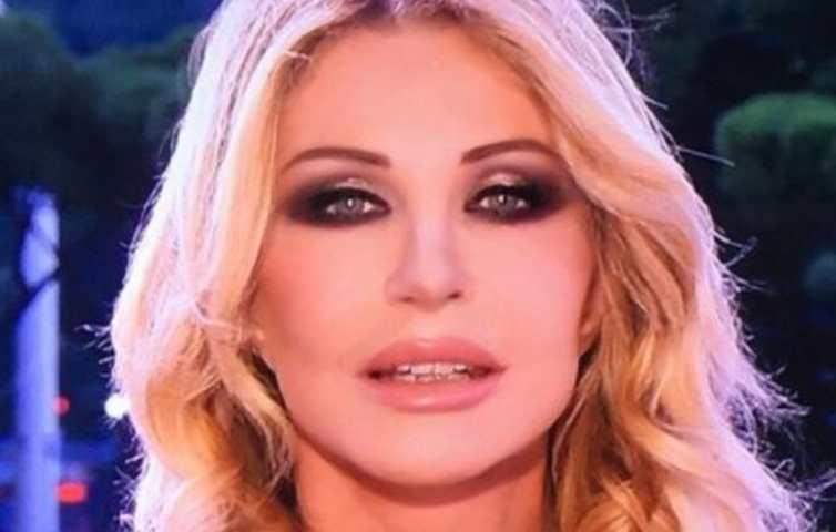Paola Ferrari primo piano