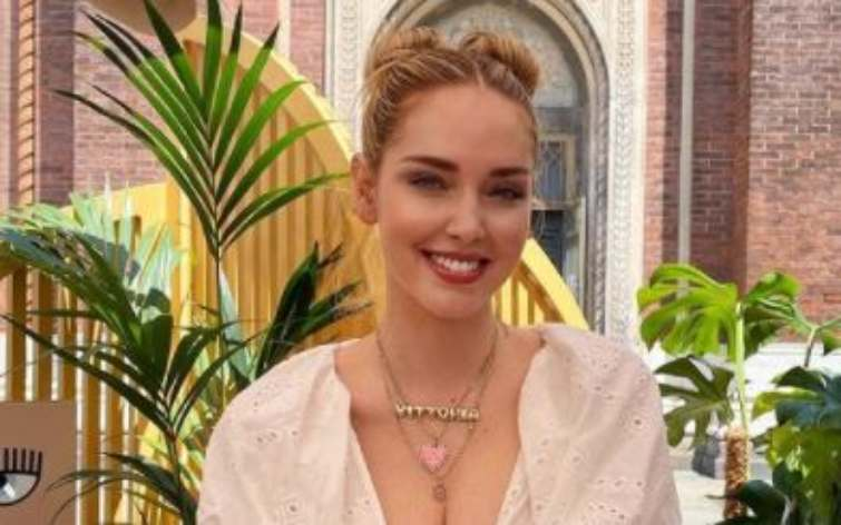 Chiara Ferragni sorriso