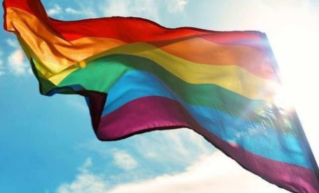 Bandiera rainbow lgbt