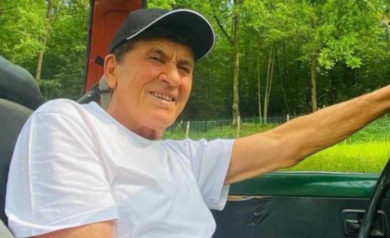 Gianni Morandi convalescenza dopo incidente