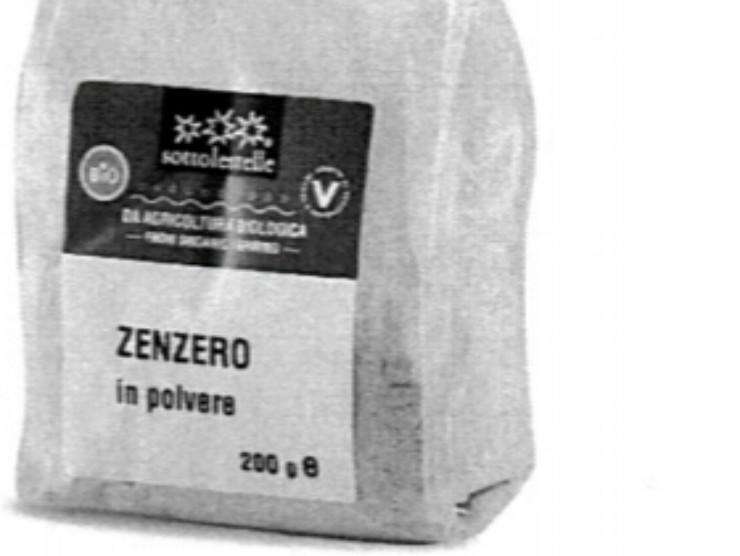 zenzero ritirato dalla vendita