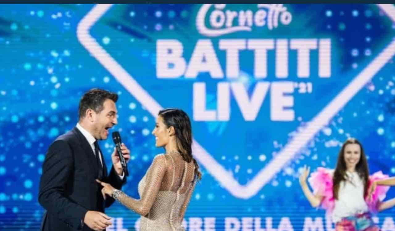 Alan Palmieri ed Elisabetta Gregoraci a Battiti Live