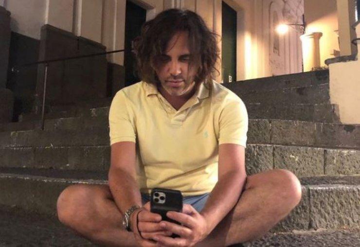 Andrea Di Carlo, ex fidanzato della cantante
