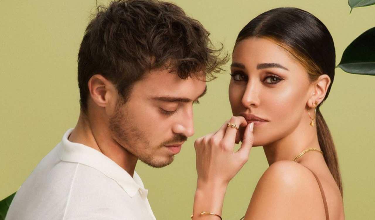 Belen Rodriguez e Antonio Spinalbese