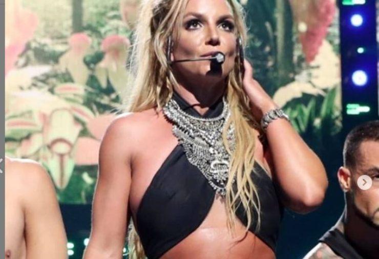 Britney durante un concerto
