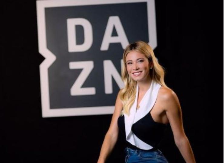 Diletta, giornalista sportiva di Dazn