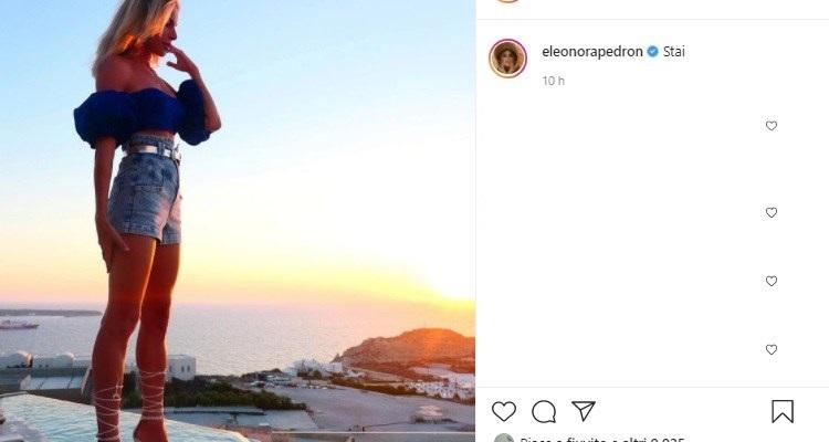 Eleonora Pedron tramonto