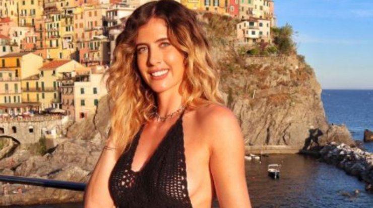 Francesca, in gita in Liguria