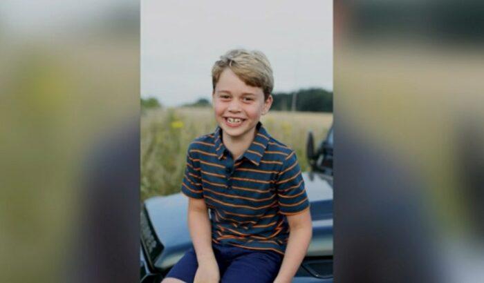 George 8 anni