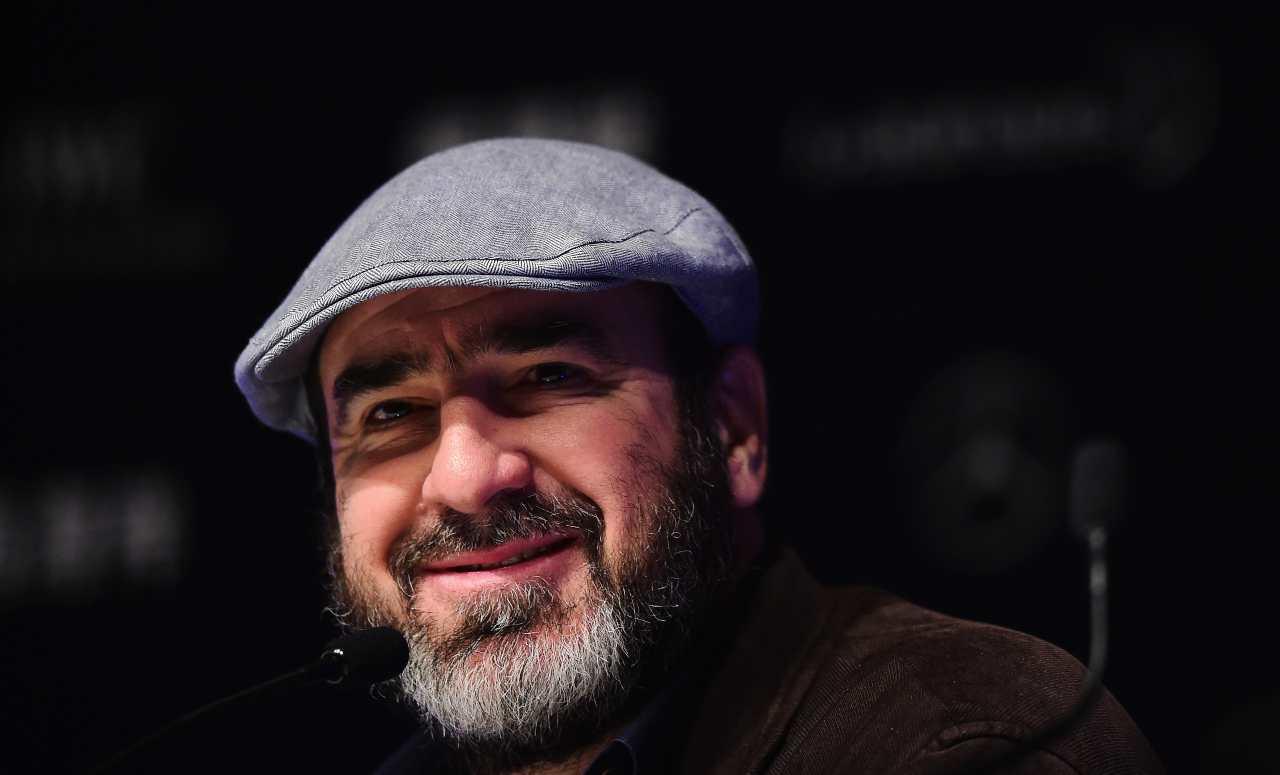 Eric Cantona primo piano