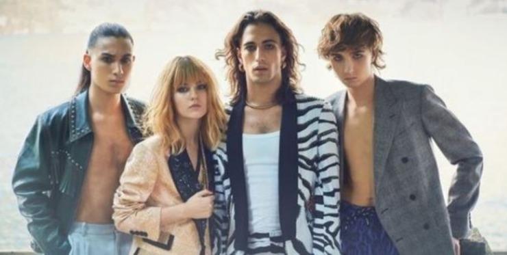 La band vincitrice di Sanremo