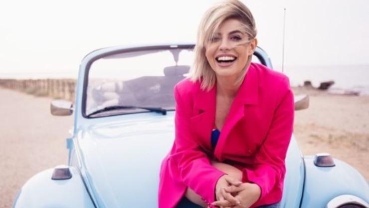 La cantante Schillaci, attrice e opinionista