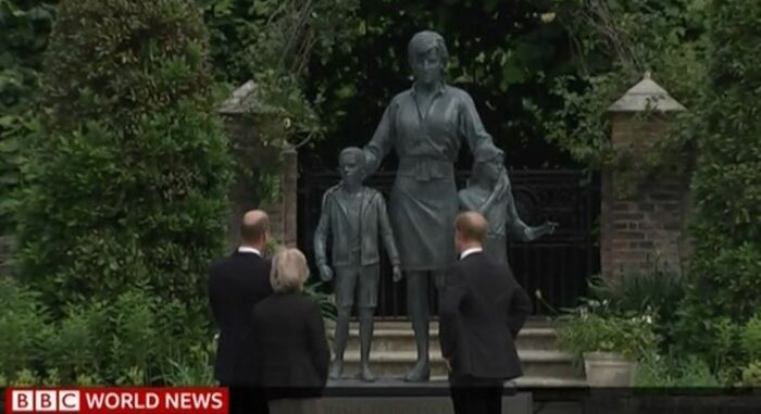 Statua di Lady Diana