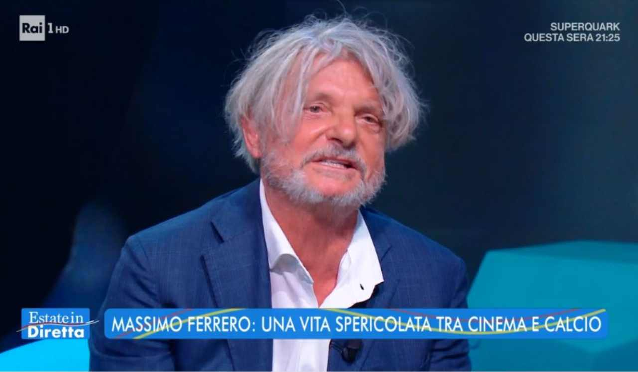 Massimo Ferrero a Estate in Diretta