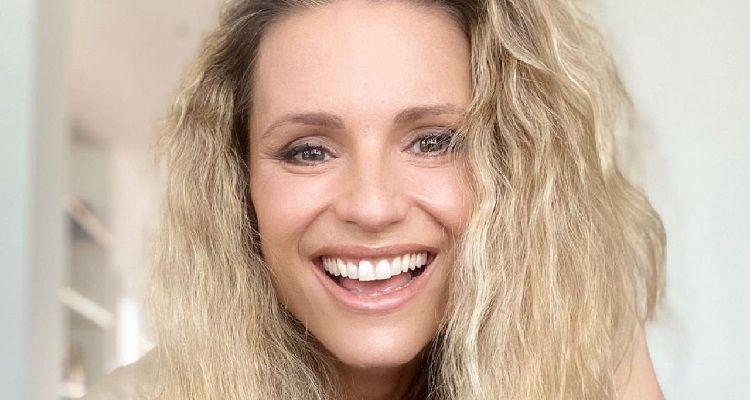 Michelle Hunziker sorriso