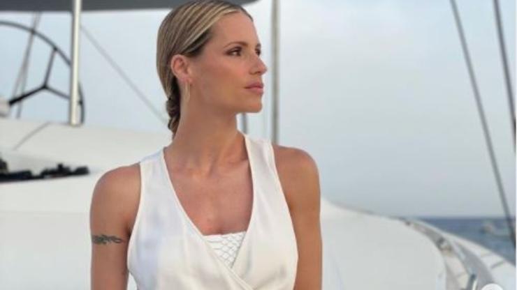 Michelle, conduttrice televisiva