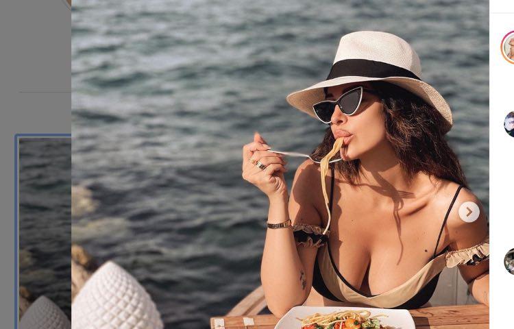 Post Instagram Rosa Perrotta