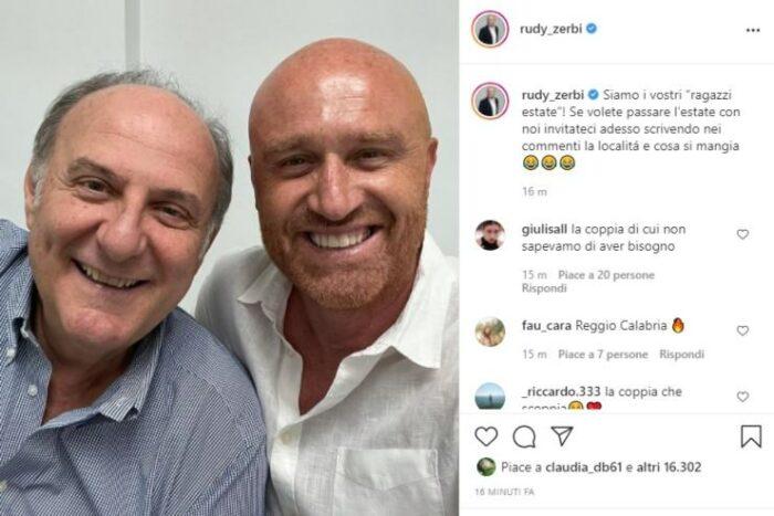 Rudy Zerbi e Gerry Scotti