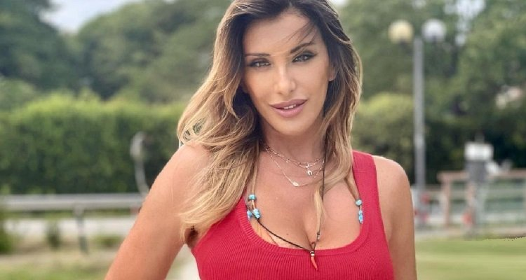 Sabrina Salerno primo piano