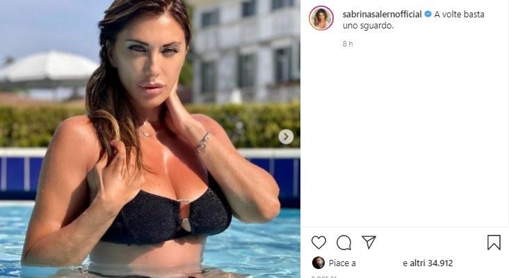 Sabrina Salerrno ammaliante