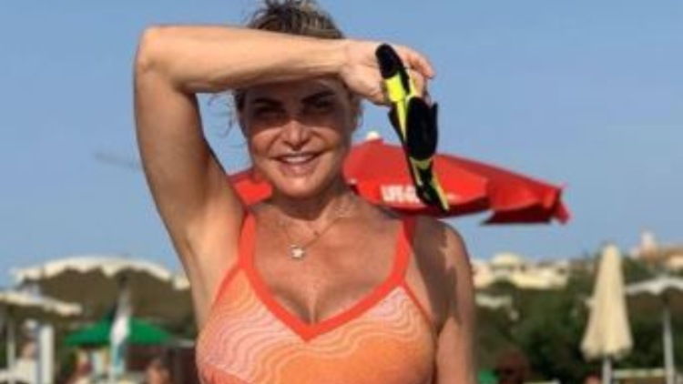 Simona Ventura Mare Paola Perego